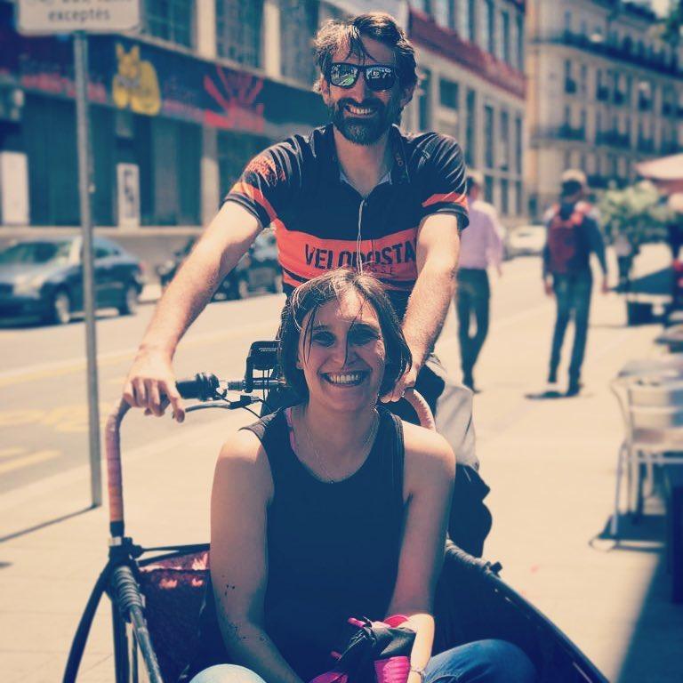 Maïté · VéloCargoGenève / Genevacargo.bike, Les Artisans à Vélo, Genève