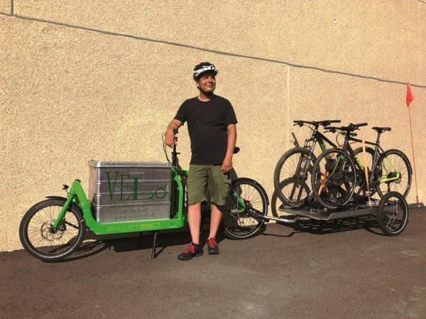 vélo vert / les artisans à vélo